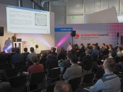 GigaDevice's RISC-V seminar at Embedded World 2020